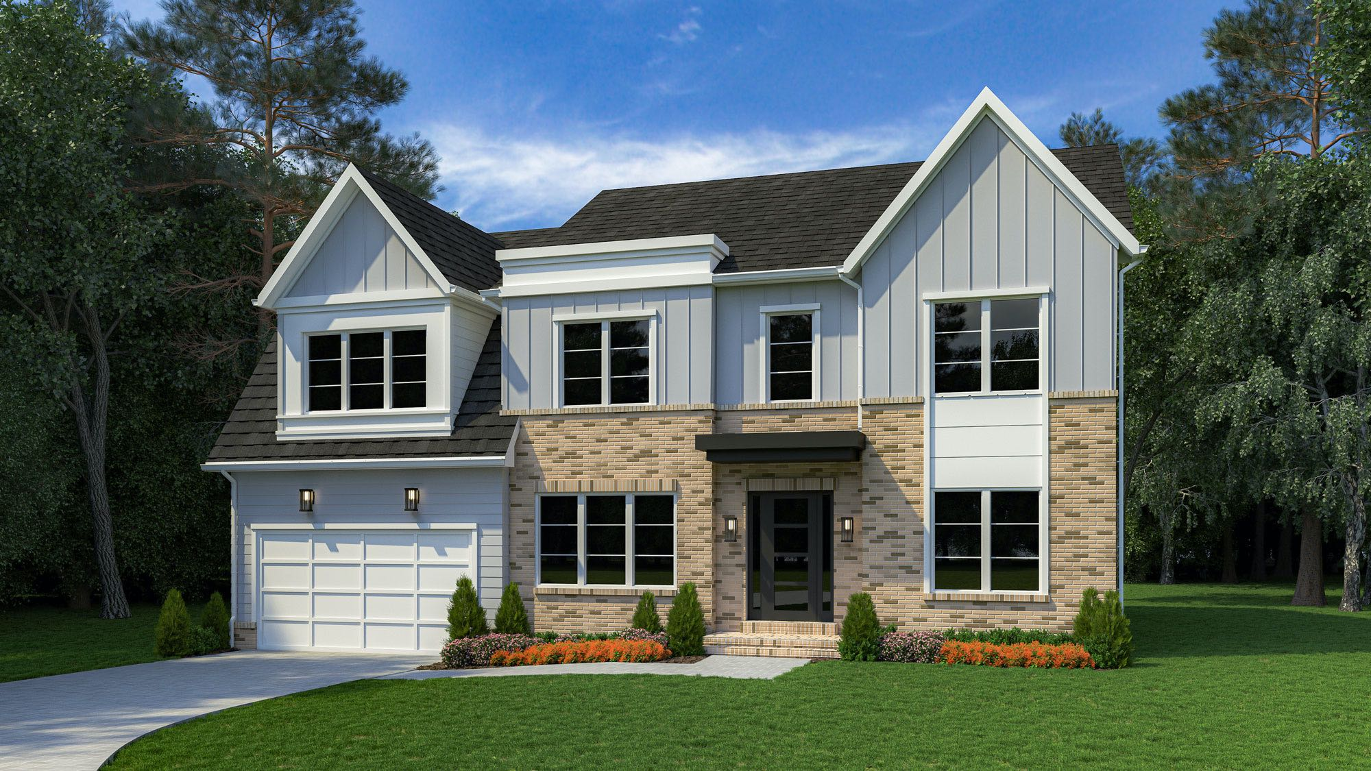 Lot 1 Rendering at Burnt Pine Estates