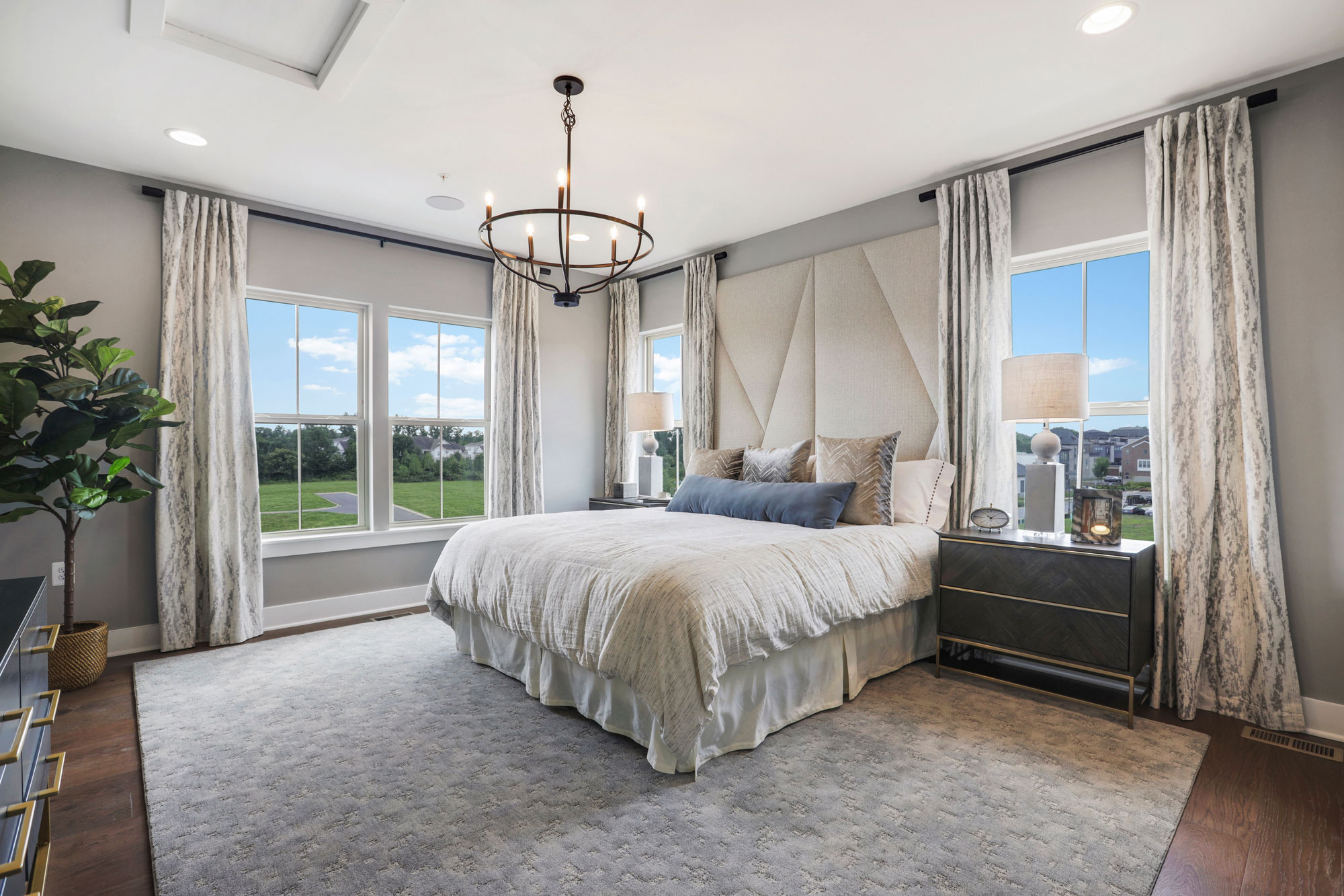 Bedrooms, Elevator Townhomes in Gaithersburg, MD, Crown by Craftmark Homes