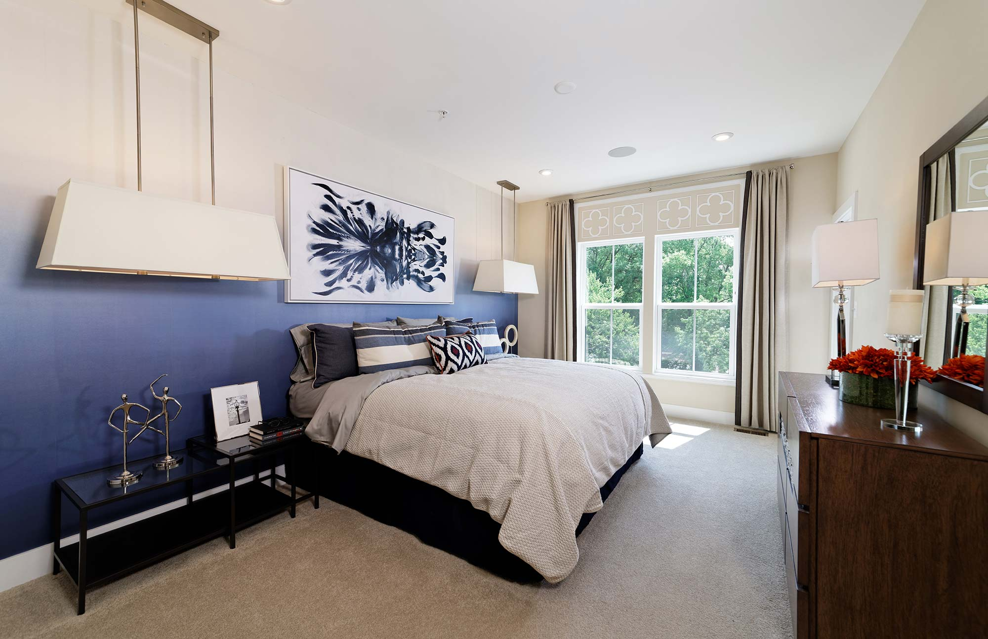 Bedroom, Urban Condos, Townhomes, NW DC