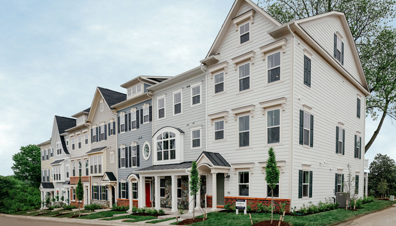 New Secluded Enclave of Luxury Townhomes in Annapolis, MD