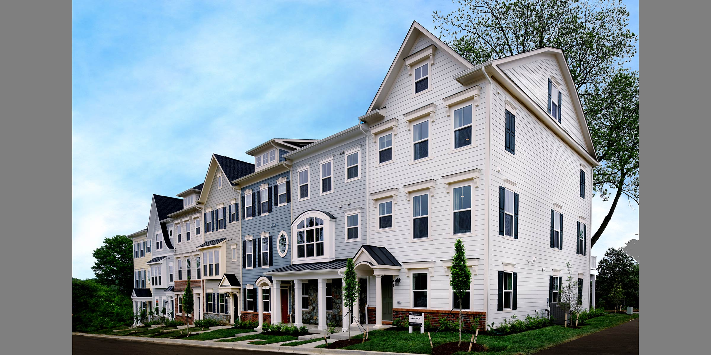 Exteriors, Townhomes in Annapolis MD