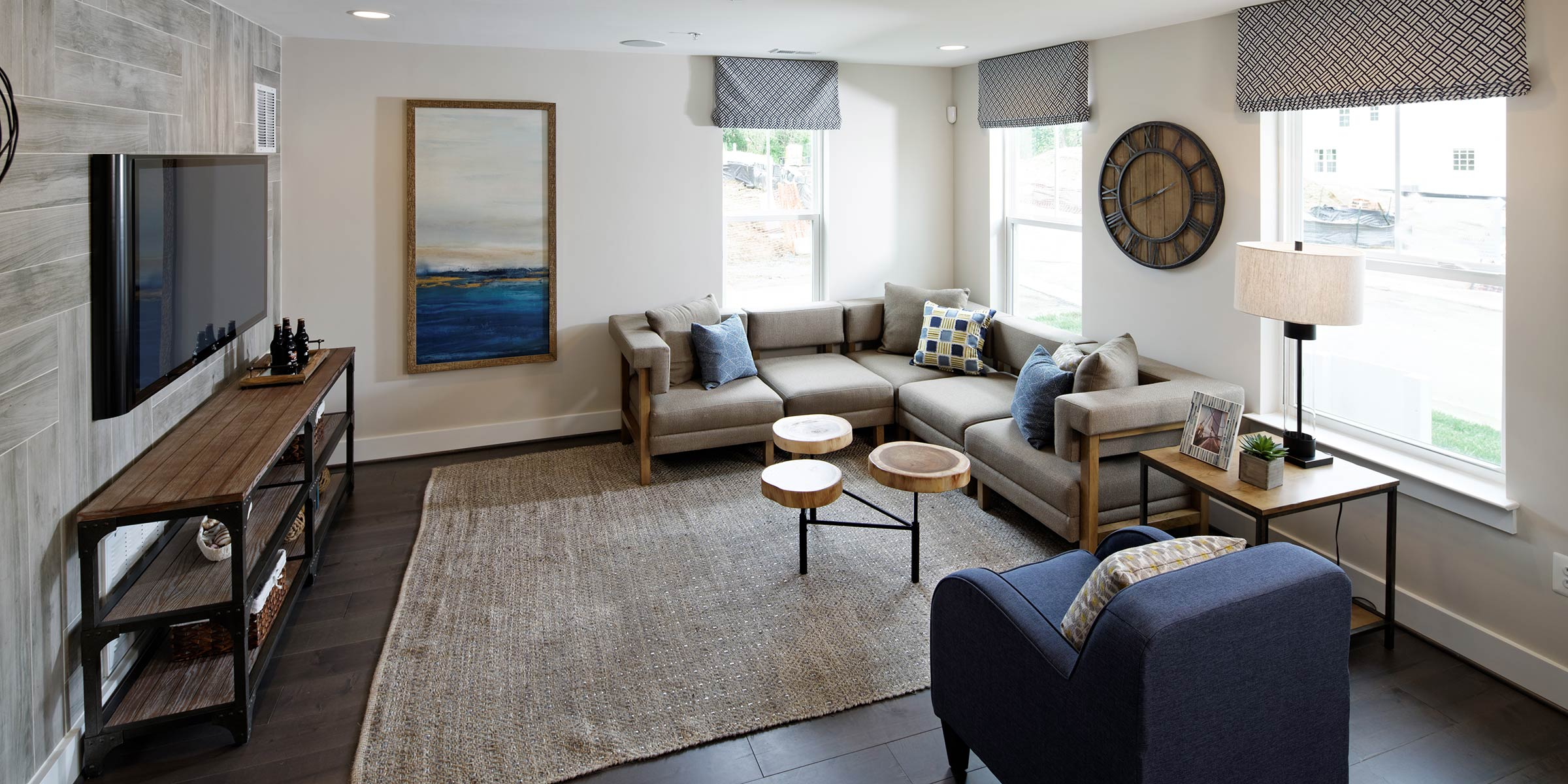 Living Room, Townhomes in Annapolis MD