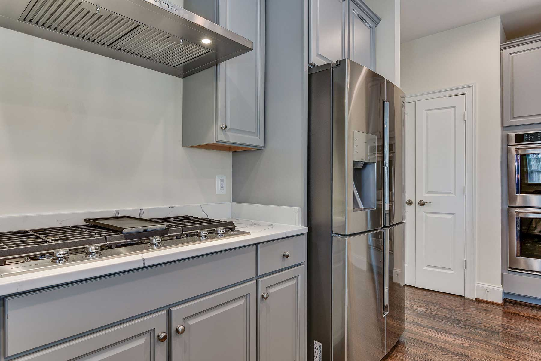 Kitchen, Finished Custom Home, Chevy Chase, Gaithersburg, Craftmark Homes