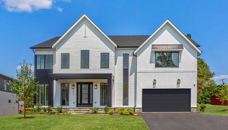 The Chevy Chase Floor Plan, Custom Home Available in Montgomery County, MD