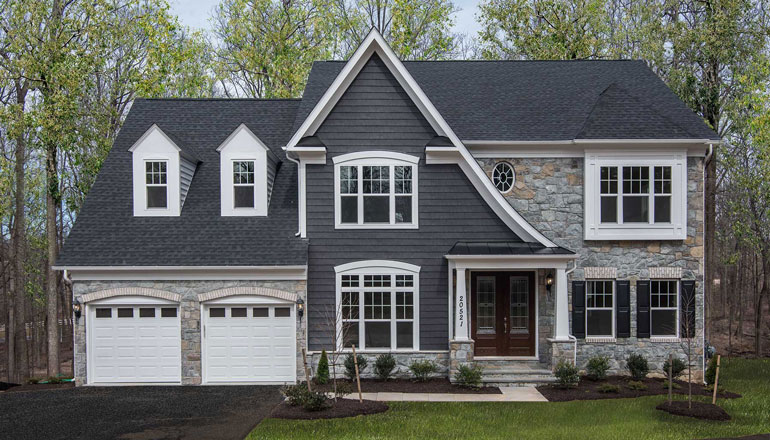 The Chevy Chase II Floor Plan, Custom Home Available in Montgomery County, MD