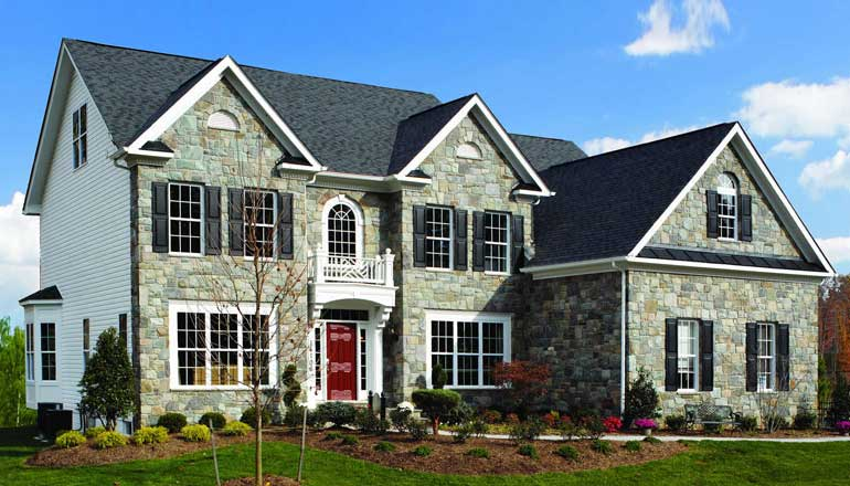The Clifton Floor Plan, Custom Home Available in Montgomery County, MD