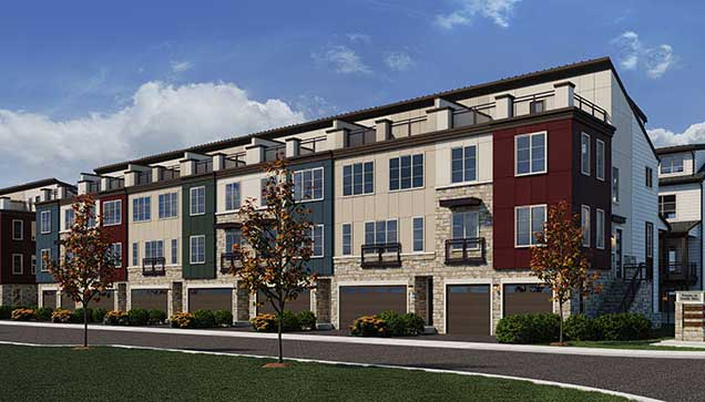 The Glendale Floor Plan, Townhomes Available in Alexandria, VA