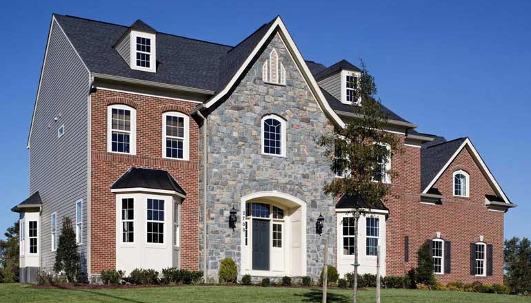 The Kenwood Floor Plan, Custom Home Available in Montgomery County, MD