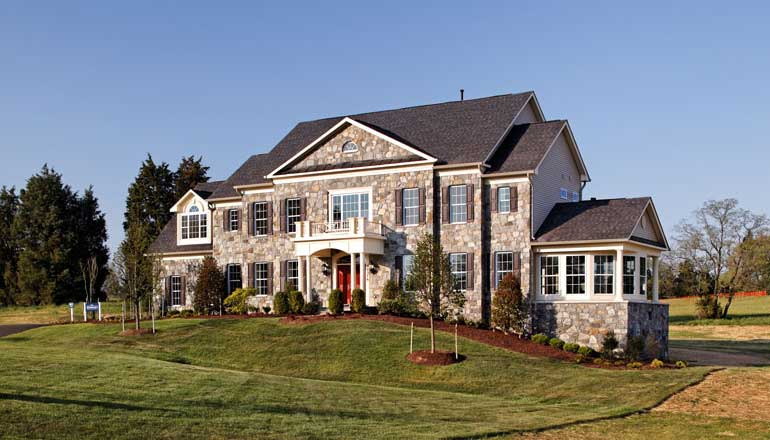 The Kenwood II Floor Plan, Custom Home Available in Montgomery County, MD
