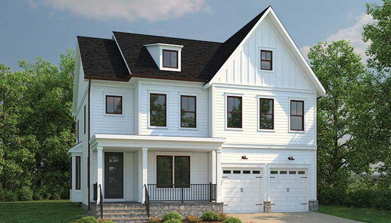 The Wakefield Floor Plan, Single Family Home in MD & VA