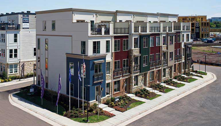 The Westfield Floor Plan, Townhomes Available in Chantilly, VA